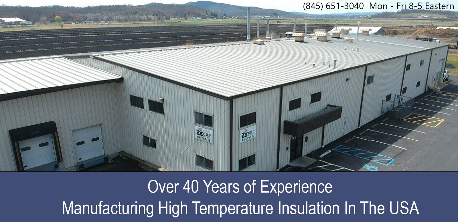 Zircar Zirconia Inc  - USA High Temperature Insulation - Home